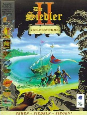 The Settlers 2 Gold Edition (PC) Game Cover