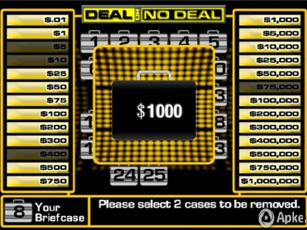 Deal or No Deal pc gameplay