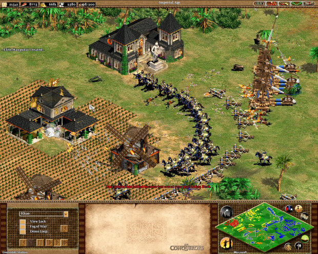 Age Of Empires 2 The Conquerors Screenshot