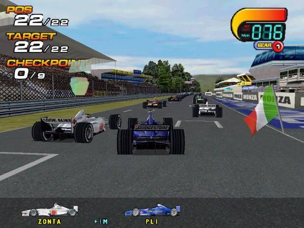 F1 2000 Video Gameplay