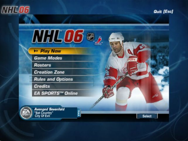 NHL 06 Game Free Full Version