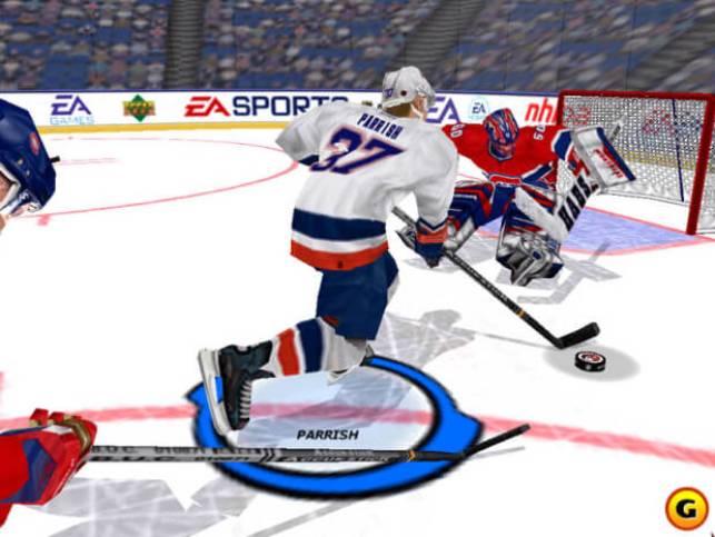 NHL 2002 Video Gameplay