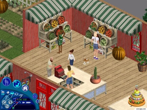 the sims 1 gameplay