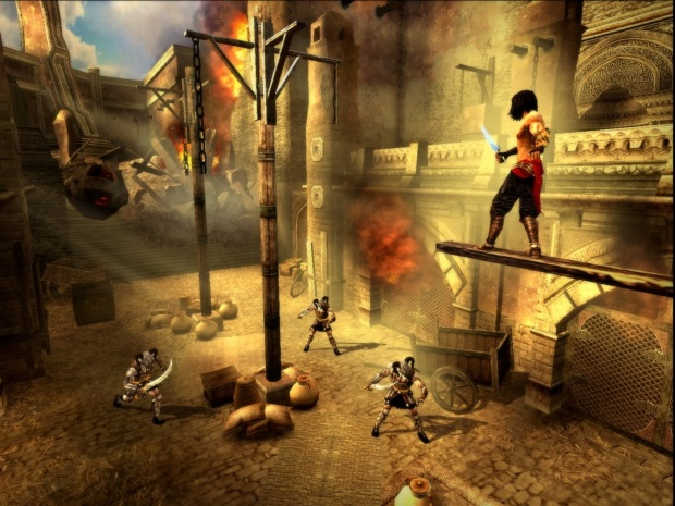 Prince of Persia 3 The Two Thrones Video Game