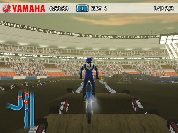 Yamaha Supercross Video Game