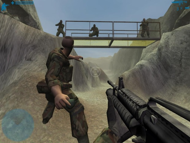 Combat Task Force 121 Video Game