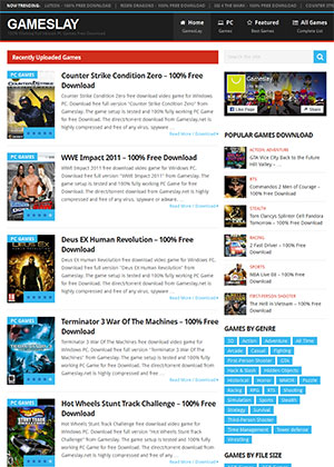 Gameslay Full PC Games Free Download Website