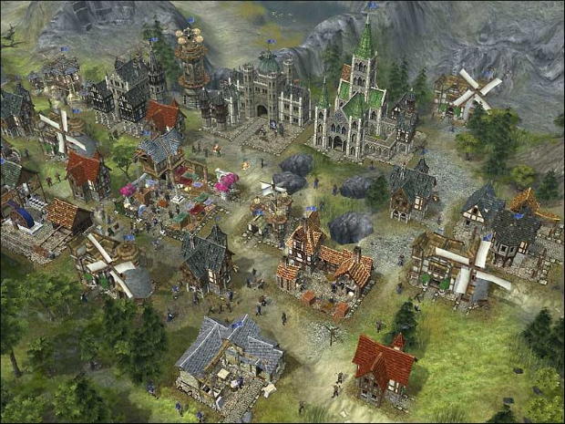 The Settlers Heritage of Kings Screenshots