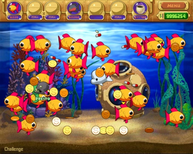 Insaniquarium Deluxe Video Game