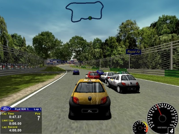 Ford Racing Video Game