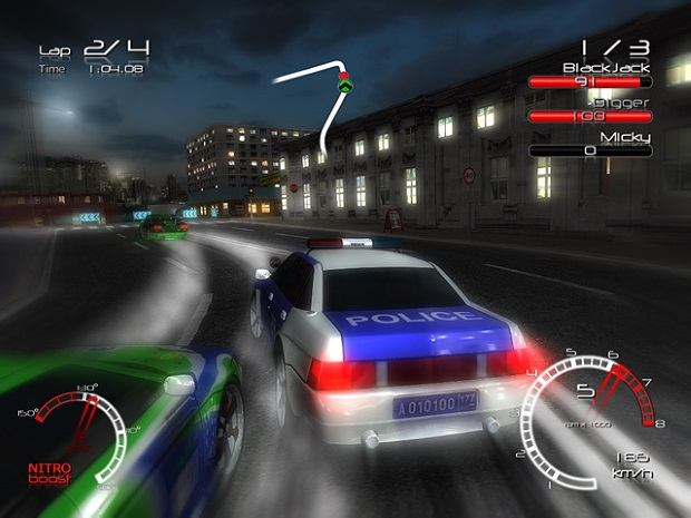 Street Racer vs Police Video Game