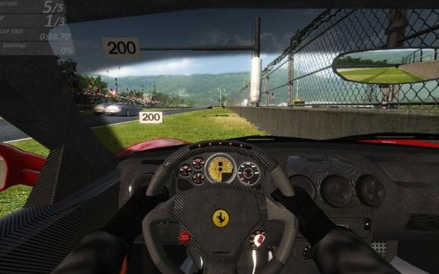Ferrari Virtual Race Video Game