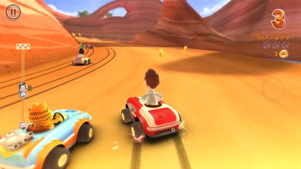 Garfield Kart Screenshots