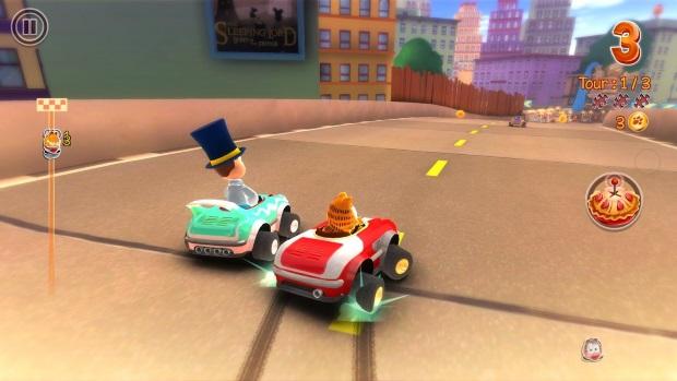 Garfield Kart Video Game