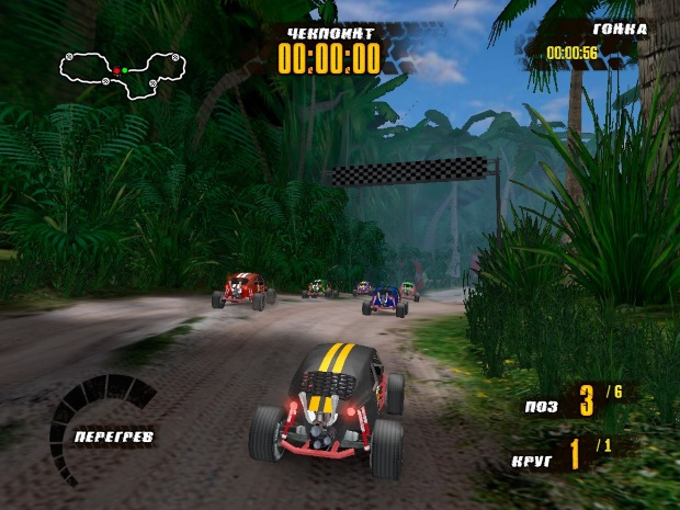 Jungle Racers Video Game