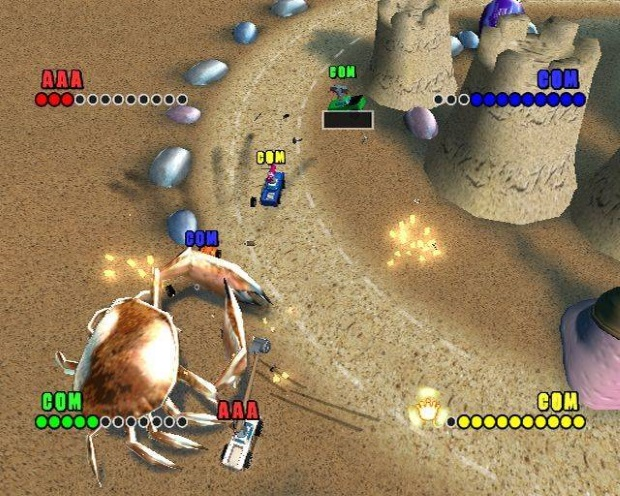 Micro Machines v4 Screenshots