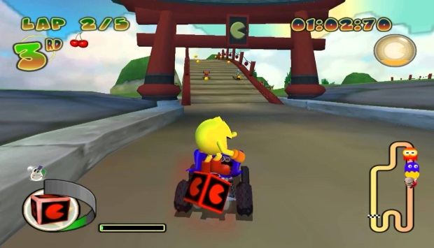 Pac Man World Rally Video Game