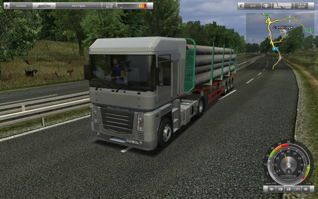 UK Truck Simulator Video Game