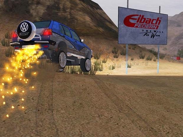 Volkswagen GTI Racing Video Game
