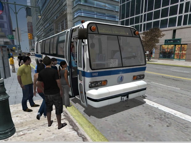 City Bus Simulator 2010 Video Game
