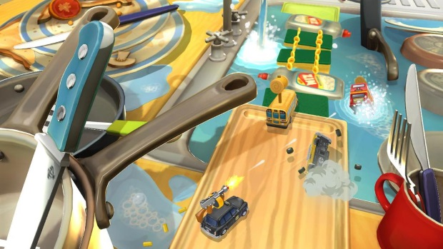Toybox Turbos Video Game