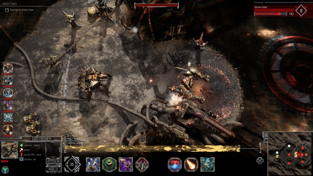 Golem Gates Screenshots