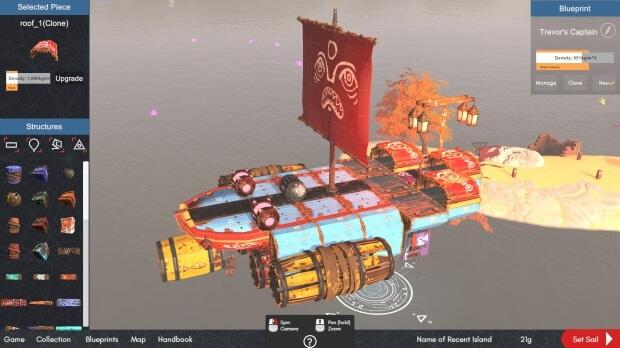 Make Sail Video game