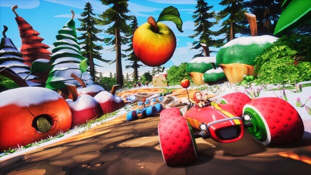 All Star Fruit Racing Screenshots