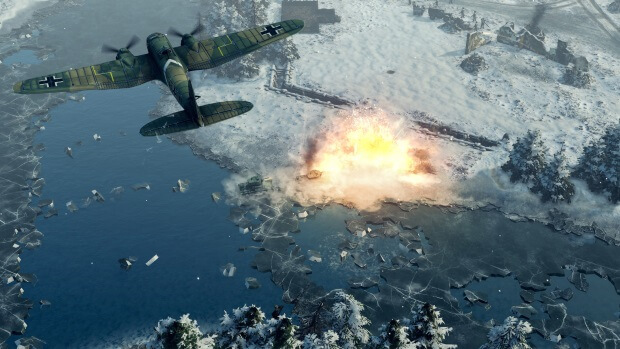 Sudden Strike 4 Finland Winter Storm Screenshots