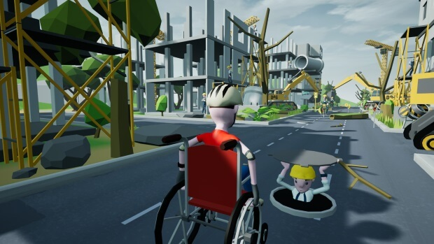 Wheelchair Simulator Screenshots