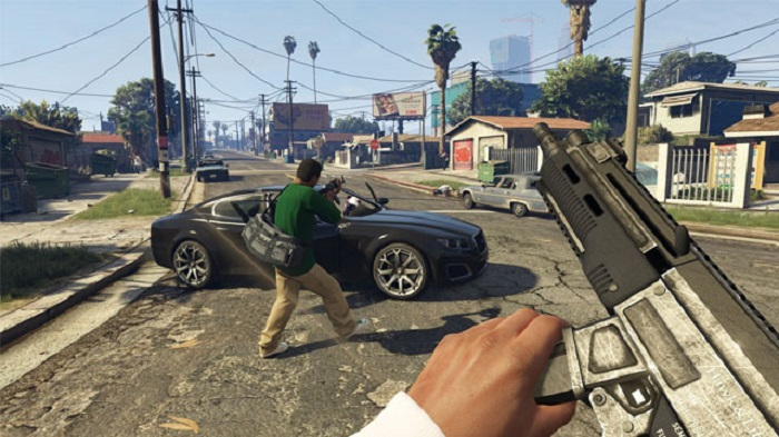 GTA V: list of cheat codes for PS4