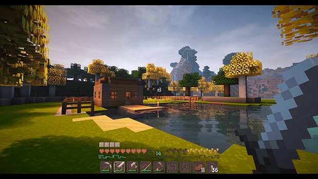 minecraft shaders 1.14 download
