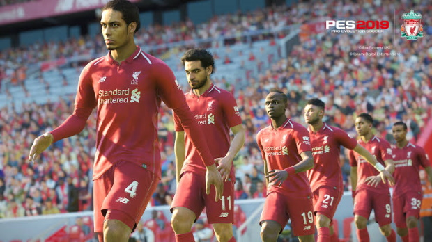 Pro Evolution Soccer 2019 Video Gameplay