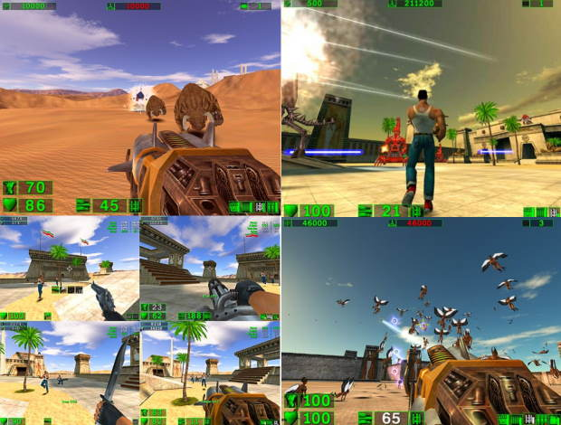 Serious Sam HD The First Encounter Free Download Full Version For PC
