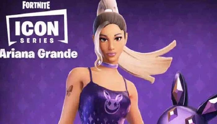 Ariana Grande: How to unlock the star's skin in Fortnite?