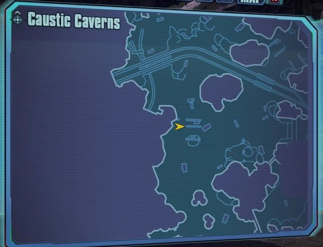 Borderlands 2 The Lost Treasure-map digger's shadow