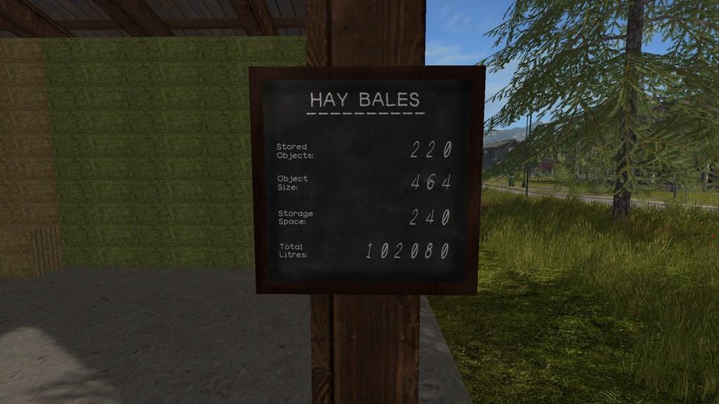 Hd Bale Storage V1 0 2 0 187 Gamesmods Net Fs19 Fs17 Ets