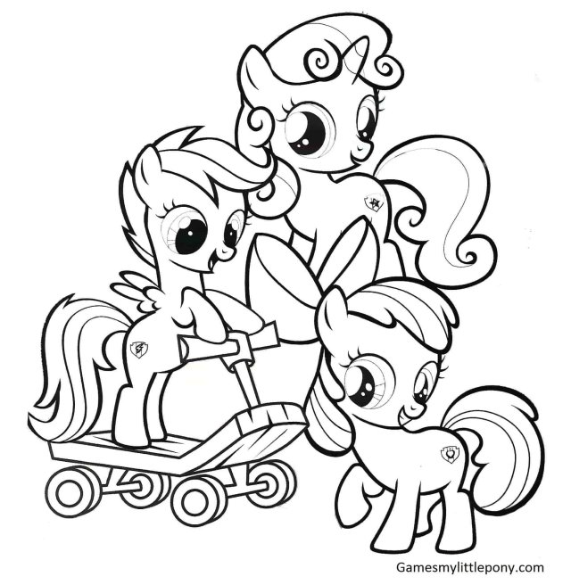 My Little Pony Coloring Pages - Pony Coloring Pages - Mlp coloring