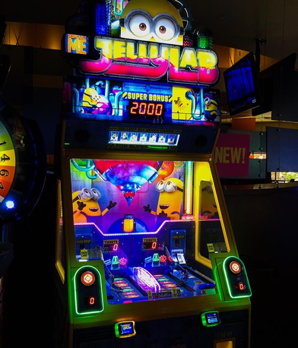 New At The Arcade – Despicable Me Jelly Lab