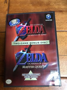 zelda ocarina of time for gamecube