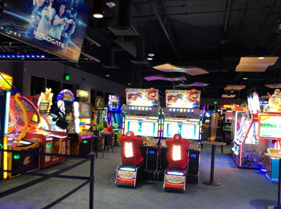Big al's milpitas arcade games including mario kart and others