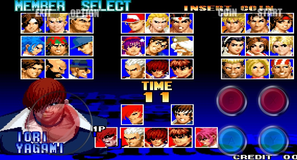 All Characters in KOF97