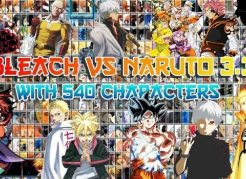 Bleach Vs Naruto Apk Mugen Download With 540 Characters