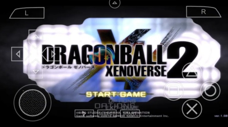 DBZ TTT Xenoverse 2 Android PPSSPP Download