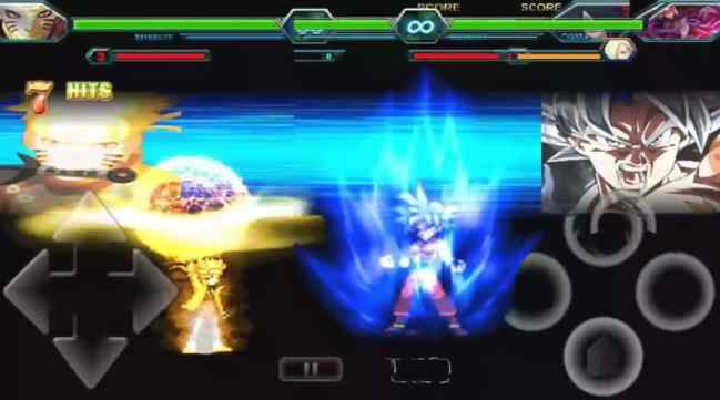 DBZ Anime Crossover Mugen Apk All Characters