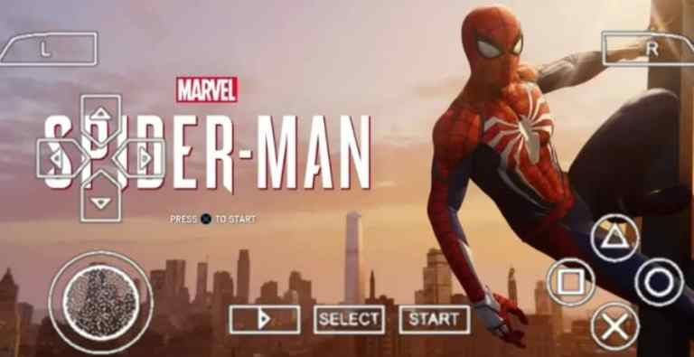 Marvel Spider Man PPSSPP ISO Download for Android
