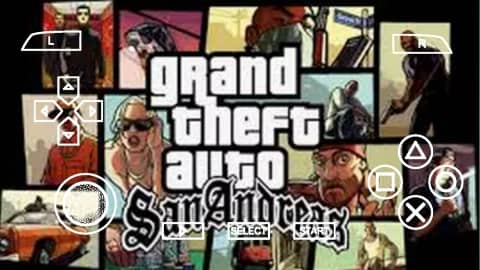 GTA San Andreas PPSSPP File Download for Android