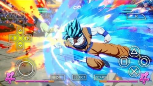Dragon Ball FighterZ PSP File
