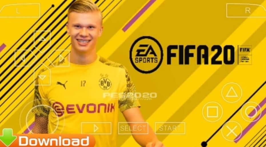FIFA 20 PPSSPP ISO File Download for Android