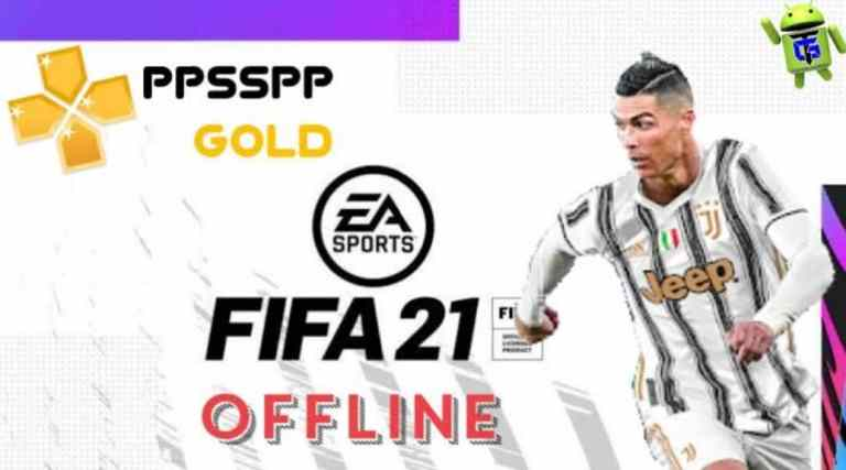 FIFA 21 PPSSPP ISO Download for Android PS5 Camera